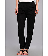 7 For All Mankind - Soft Pant With Cuffed Hem in Black Enzyme Twill