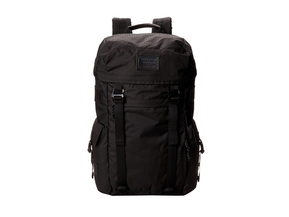 Burton Annex Pack True Black Triple Ripstop Backpack Bags