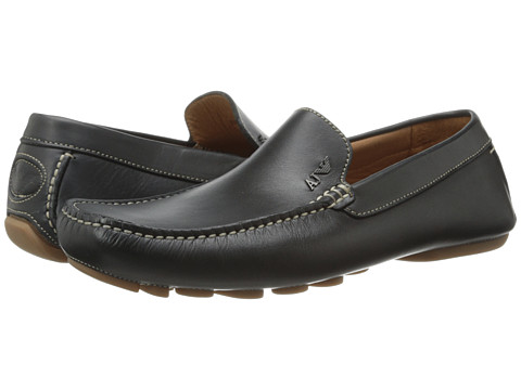 Armani Jeans Leather Loafer Driver