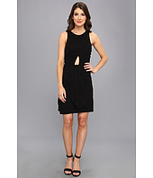 ABS Allen Schwartz - Sleeveless Draped Bodice Cutout Dress