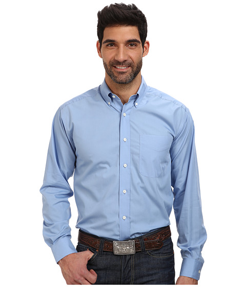 Ariat wrinkle free landa shirt shipped free at zappos for Best wrinkle free dress shirts