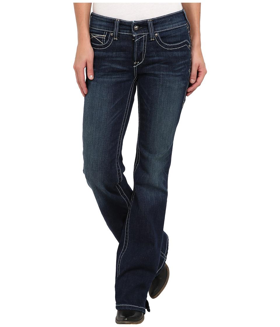 Ariat - R.E.A.L.tm Riding Jean Whipstitch in Ocean (Ocean) Womens Jeans