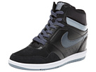 Nike Force Sky High Sneaker Wedge (Black/Magnet Grey/White/Dark Magnet Grey)