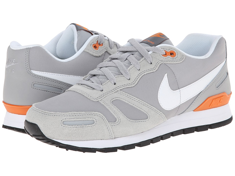Nike Air Waffle Leather Trainer (Wolf Grey/Black/Copper Flash/White) Men's Shoes