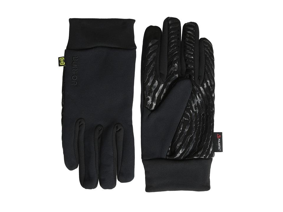 Burton Powerstretch(r) Liner (True Black) Extreme Cold Weather Gloves