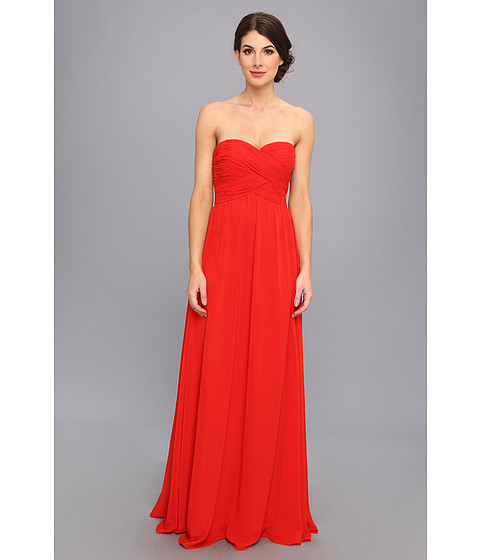 Faviana Strapless Sweetheart Chiffon Dress 7338