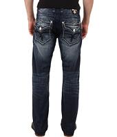 Rock Revival - Design Pocket Straight Jean in Dark Blue