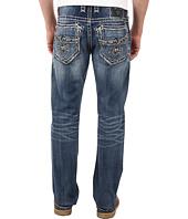 Rock Revival - Whskr Bkknee Straight Jean in Medium Blue