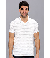 Perry Ellis - Short Sleeve Space Dye Open Polo