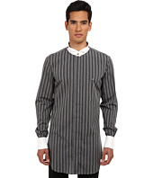 Vivienne Westwood MAN - Check & Stripes Detachable Collar Button Up