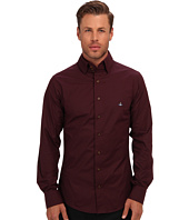 Vivienne Westwood MAN - Triple Button Collar Stretch Cotton Button Up