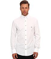 Vivienne Westwood MAN - Triple Button Collar Stretch Cotton Button Up
