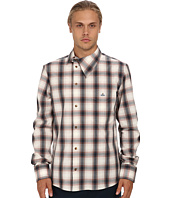 Vivienne Westwood MAN - RUNWAY Check & Stripes Asymmetrical Button Up