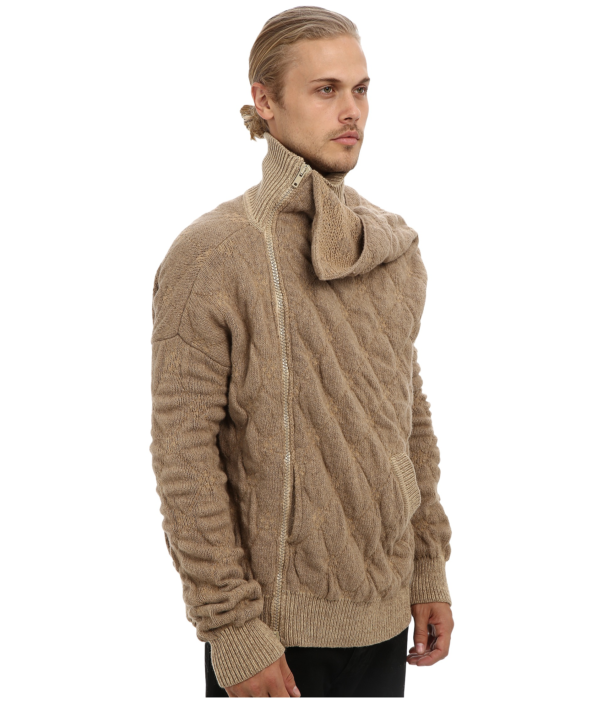 Vivienne Westwood Man Runway Gold Label Quilted Knit Jacket Shipped Free at...