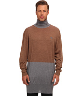 Vivienne Westwood MAN - RUNWAY Merino Colorblock Turtleneck