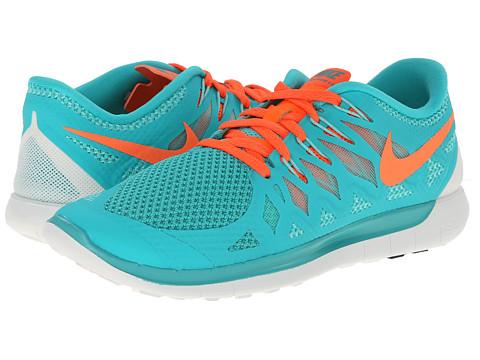 Nike Free 5.0 Teal And Orange