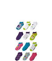 Steve Madden - 12 Pack Low Cut Athletic Bows (Toddler/Little Kid/Big Kid)