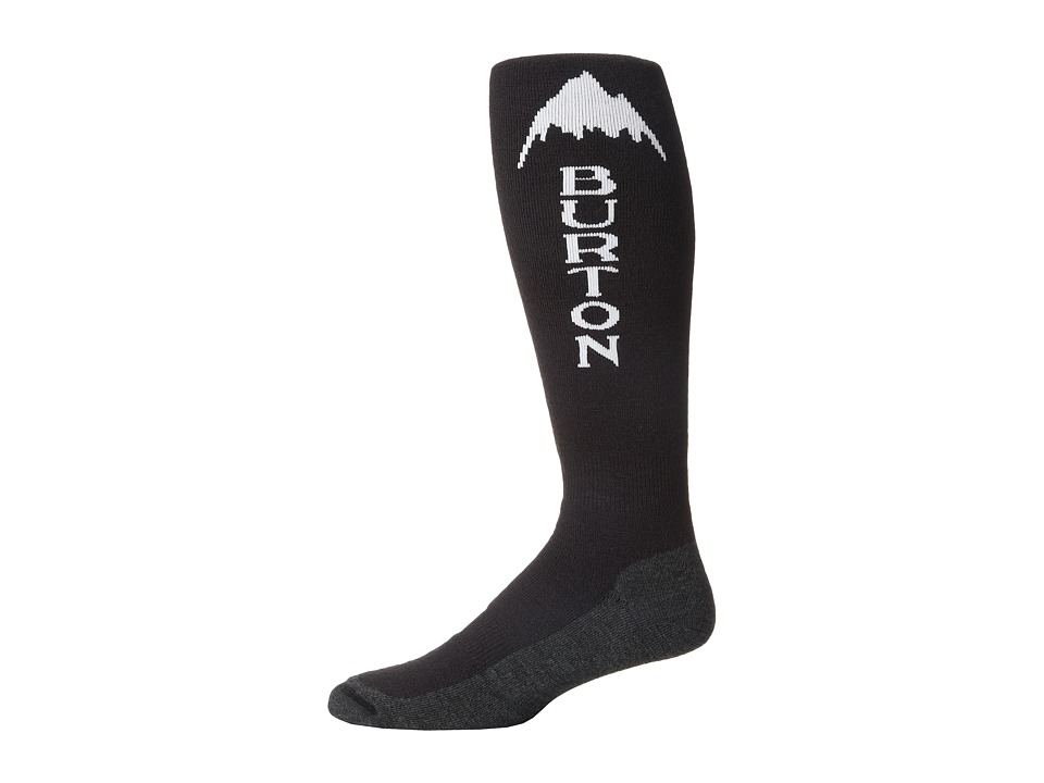 Burton Emblem Sock True Black Mens Crew Cut Socks Shoes
