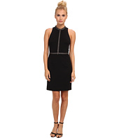 ABS Allen Schwartz - Body Con Dress w/ Chain-Trim Detail