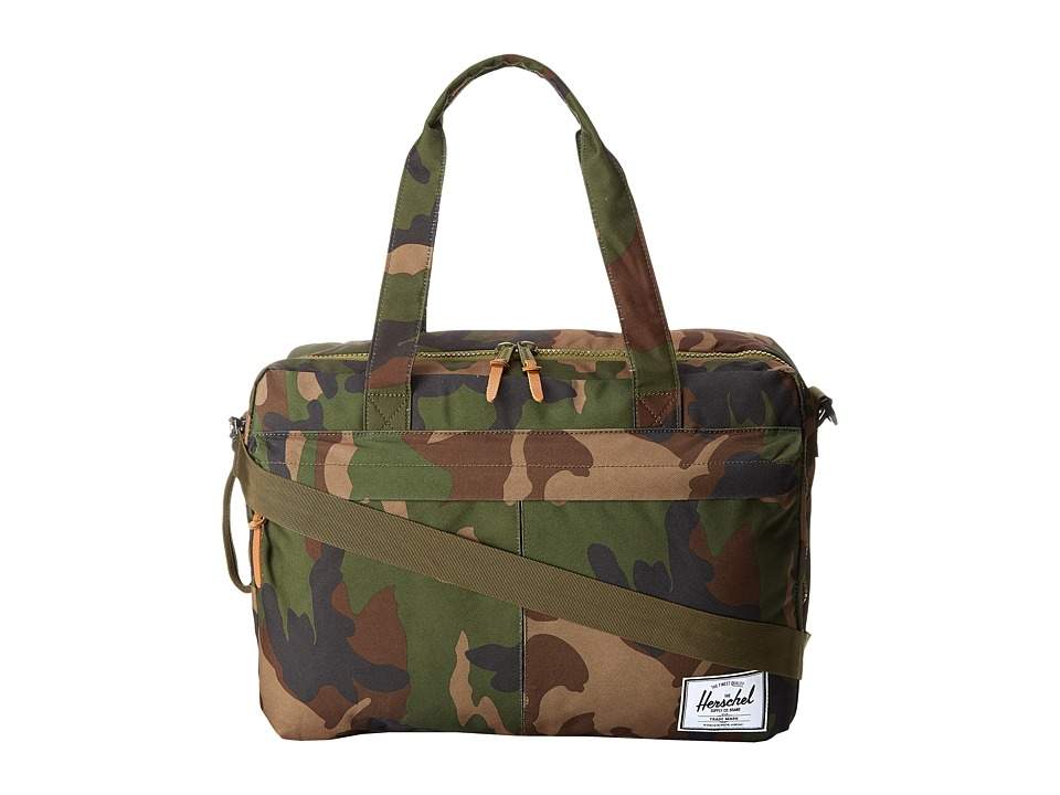 Herschel Supply Co. - Bowen (Woodland Camo) Duffel Bags