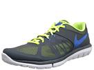 Nike Flex 2014 Run (Dark Magnet Grey/Volt/White/Photo Blue)