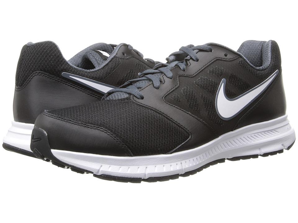 Nike - Downshifter 6 (Black/Dark Magnet Grey/White) Mens Running Shoes