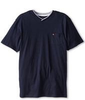 Tommy Hilfiger Kids - Isenov S/S V Neck Pocket Tee (Big Kids)