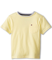 Tommy Hilfiger Kids - Isenoc S/S Crew Pocket Tee (Toddler/Little Kids)