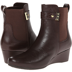 Total Motion Gore Pull On Boot w/ Croc Strap (Coach Leather)