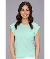 BCBGeneration - Rolled Sleeve Slit Short Sleeve Tee VZC1R962