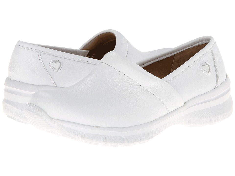 Nurse Mates - Libby (White) Womens Clog Shoes