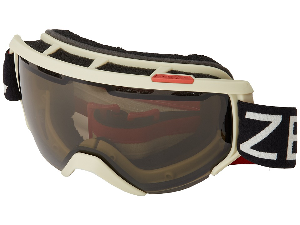 Zeal Optics Slate White amp Red w/ Polarized Automatic Goggles
