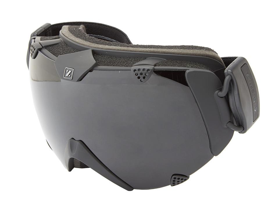 Zeal Optics Eclipse (Matte Black w/ Dark Grey Polarized) Snow Goggles