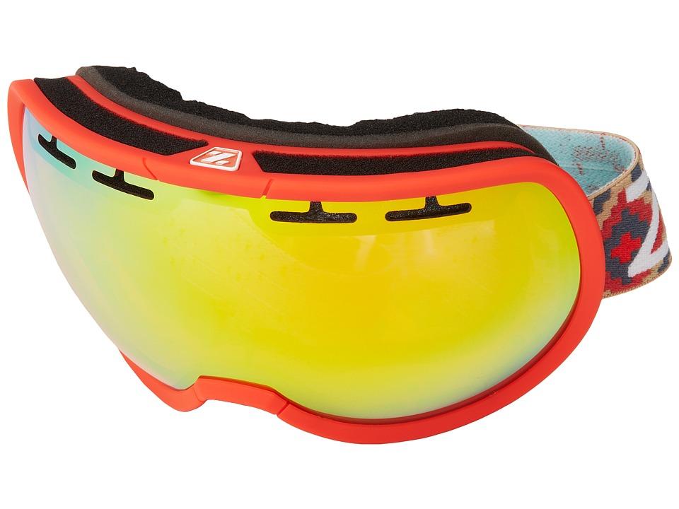 Zeal Optics Level Red w/ Phoenix Mirror Goggles