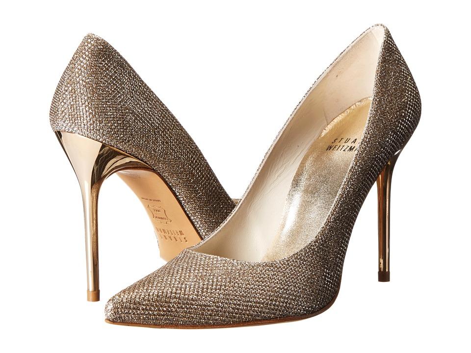 Stuart Weitzman Bridal & Evening Collection - Nouveau (Platinum Noir) High Heels