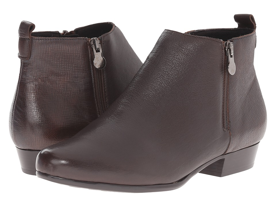 Munro American Lexi Brown Womens Zip Boots
