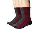 Macbeth Stripes Crew Socks 4 Pack