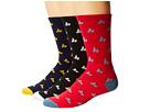 Macbeth Micro Pennant Crew Socks 3 Pack