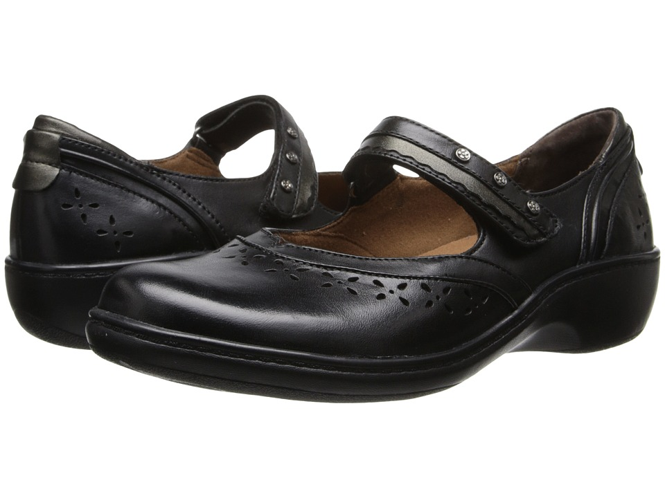 Aravon Dolly (Black) Women's Shoes