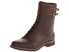 Rockport - Alanda Brogue Boot Lace-up w/ Double Strap (Coach) - Footwear