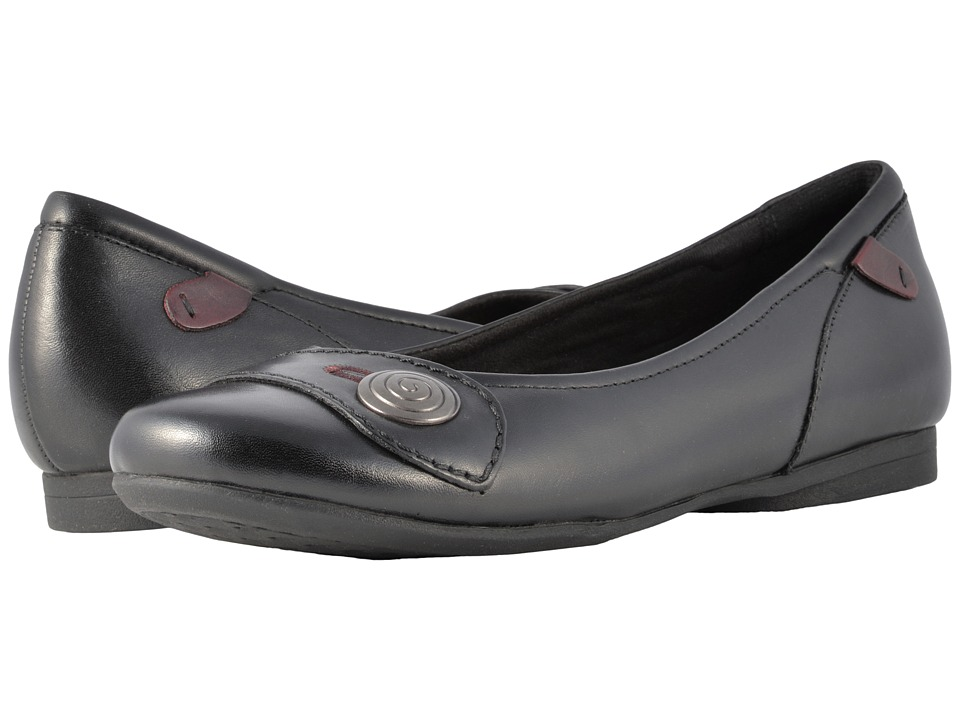 Rockport Cobb Hill Collection - Cobb Hill Emma (Black) Womens Slip on  Shoes