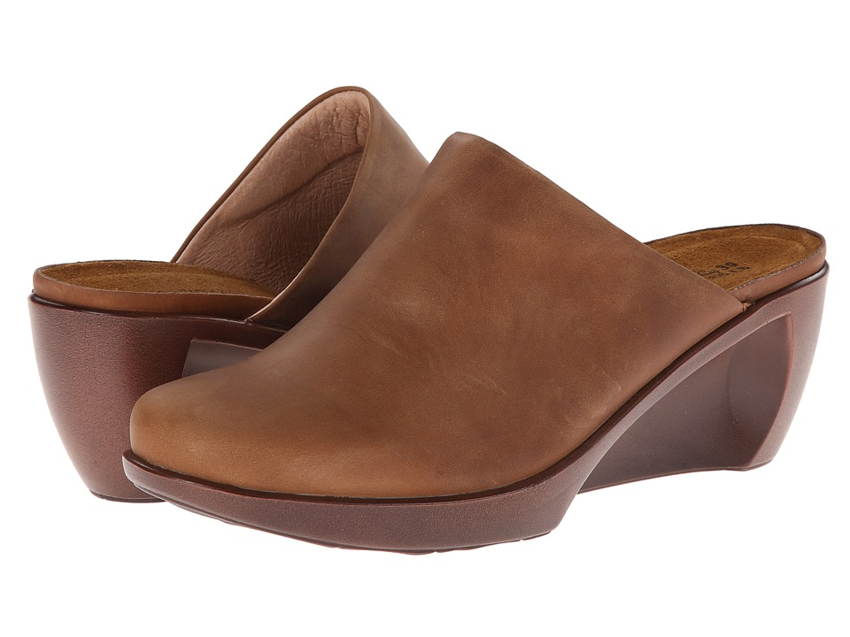 Naot Footwear Evening (Saddle Brown Leather) Women