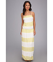 Vitamin A Swimwear - Olivia Strapless Maxi Cover-up