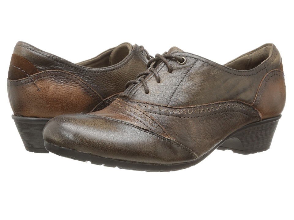 Cobb Hill Georgina Brown Antiqued Womens Lace up casual Shoes
