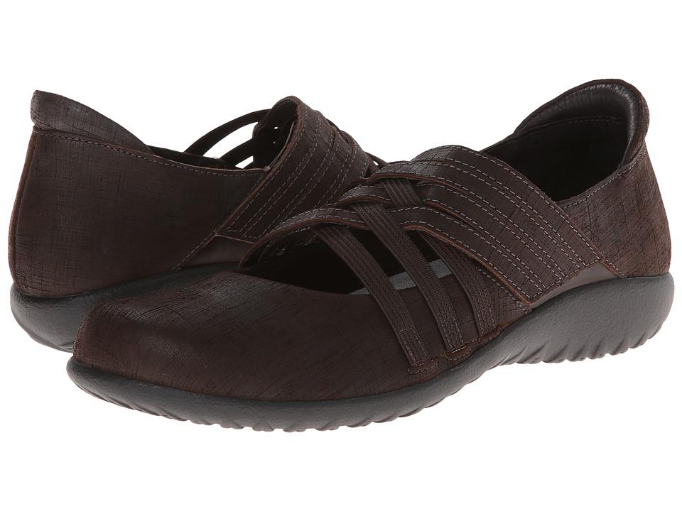 Naot Footwear - Kawaka (Mine Brown Leather/French Roast Leather) Women