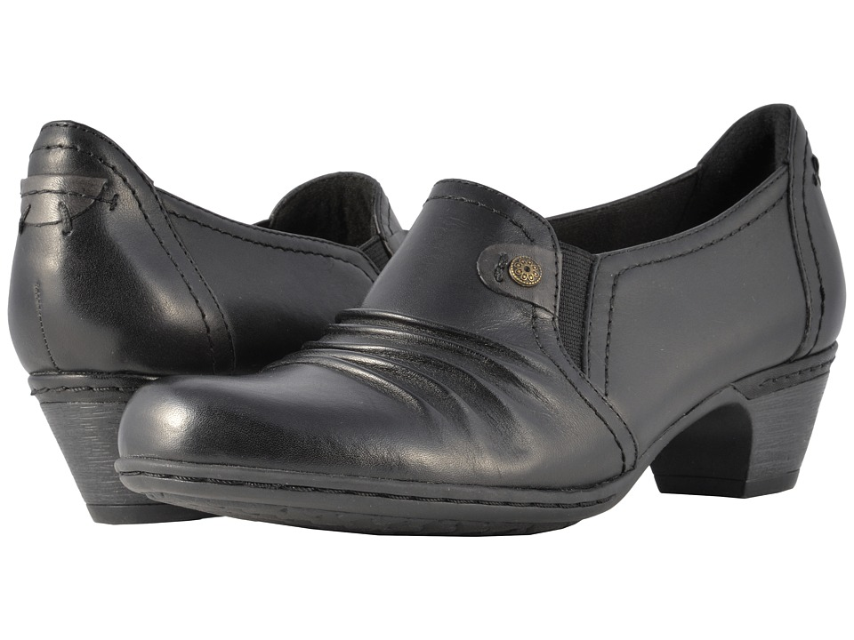 Rockport Cobb Hill Collection - Cobb Hill Adele (Black) Womens 1-2 inch heel Shoes