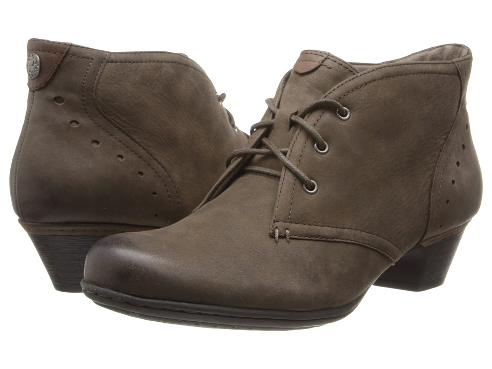 Rockport Cobb Hill Collection Cobb Hill Aria (Stone) Women's Lace-up Boots