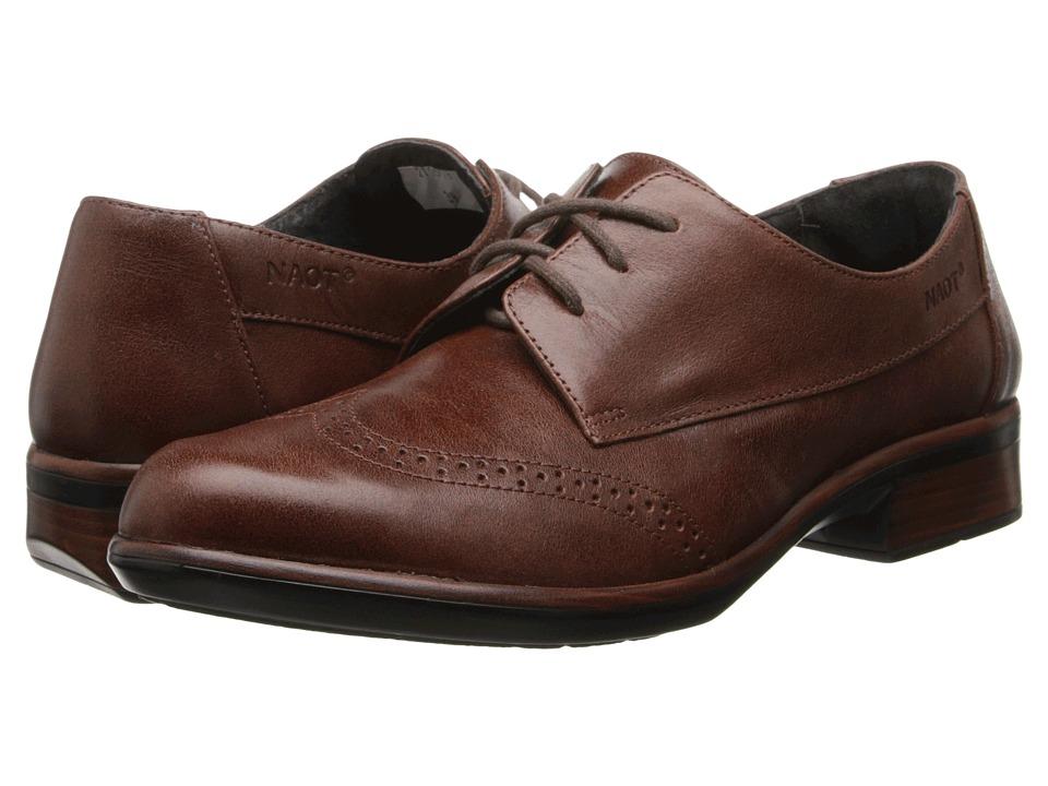 Naot Footwear - Lako (Luggage Brown Leather) Women