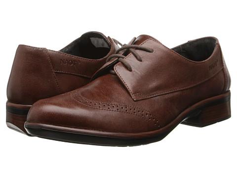 Naot Footwear Lako - Luggage Brown Leather