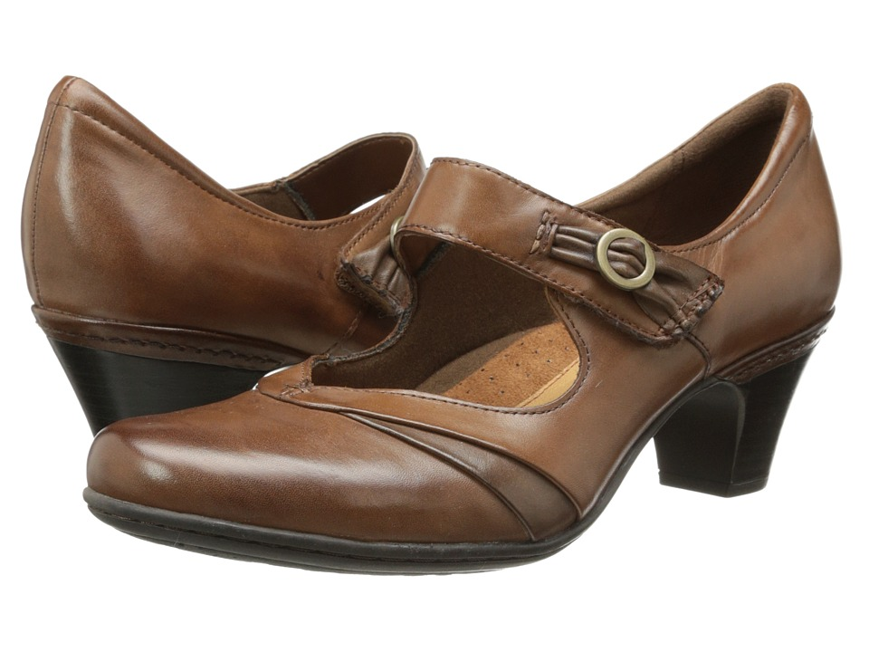 Rockport Cobb Hill Collection - Cobb Hill Salma (Almond) Womens Maryjane Shoes